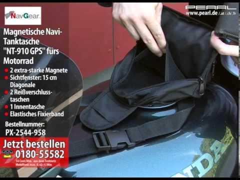 NavGear Magnetische Navi-Tanktasche