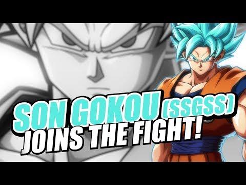 Dragon Ball FighterZ Goku (SSGSS) trailer de Dragon Ball FighterZ