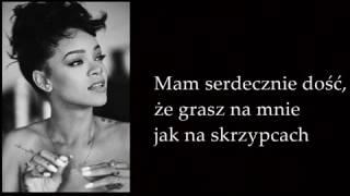 Rihanna   Love On The Brain (LIVE) Tłumaczenie PL