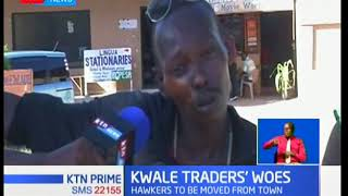 Hawkers cry foul over forced relocation from Kwale Town