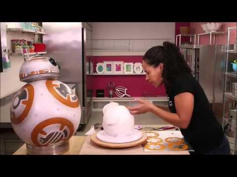 Как приготовить торт BB-8 Droid из Star Wars