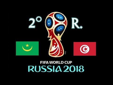 MAURITANIA v. TUNEZ - CAF 2018 FIFA World Cup - 2° RONDA
