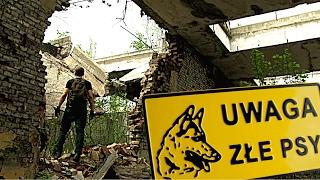 ZAATAKOWAŁY MNIE PSY - Urban Exploration - opuszczona fabryka