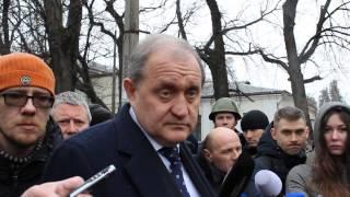 Могилев о российских БТР в Крыму