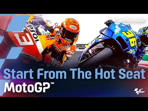 MotoGP 2021 第14戦サンマリノ 決勝レースのシートポジション映像