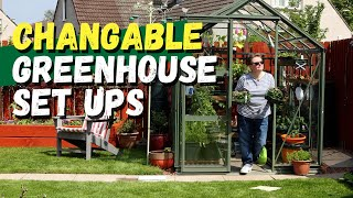 Setting up the new greenhouse: making the most of your space