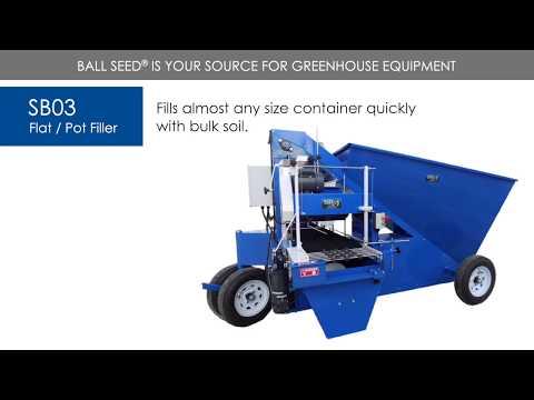 SB03 Flat/Pot Filler - SB Machinerie thumbnail