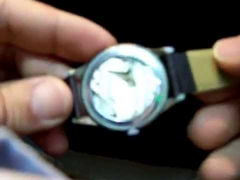 Antiguo reloj Meda calibre 365, de carga manual y origen militar