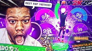 *NEW* TOP SECRET REP METHOD IN NBA 2K20! BECOME A LEGEND TODAY! *CRAZY RESULTS*