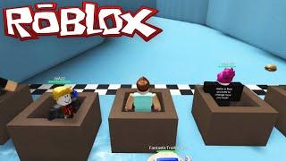 Roblox Adventures / Epic Mini Games / Slippery Slide Box Racing!