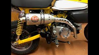 Monkey 125 Exhaust म फ त ऑनल इन व ड य