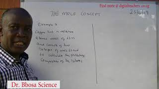 Mole concept (A-level) lession 1 by Dr Bbosa Science