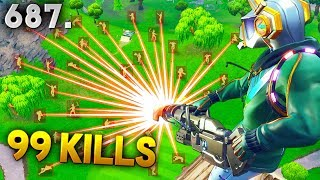 *HACKER* GOT 99 KILLS SOLO..!!! Fortnite Funny WTF Fails and Daily Best Moments Ep.687
