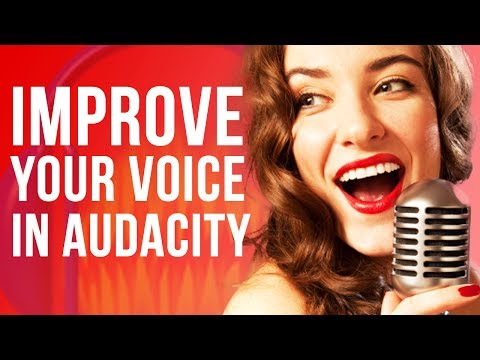 Make Your Voice Sound Better In Audacity (EASY)