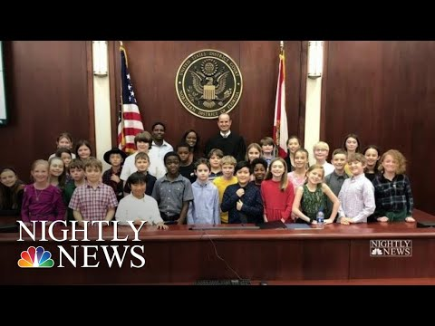 Teacher Becomes U.S. Citizen With Students By Her Side   NBC Nightly News