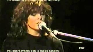 Alice - Prospettiva Nevski  (Live) with Lyrics and English Translation