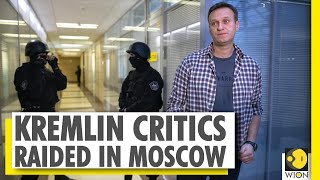 Russian police raid opposition leaders | Kremlin critics | Moscow