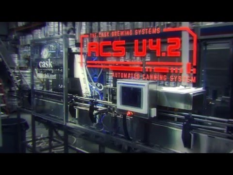 ACS: Automated Canning System V4.2 (35 CPM) Can filler sold by Cask Brewing Systems