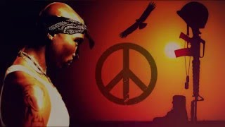 2Pac & Outlawz - Never Be Peace (NEW 2016) 'REMIX' M.K.R.