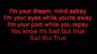 Sad But True - Apocalyptica (with lyrics)