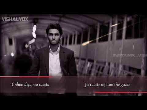Arijit Singh | Chhod Diya | Bazaar Movie | Lyrical Full Song | New Song | 2018 |vishavox