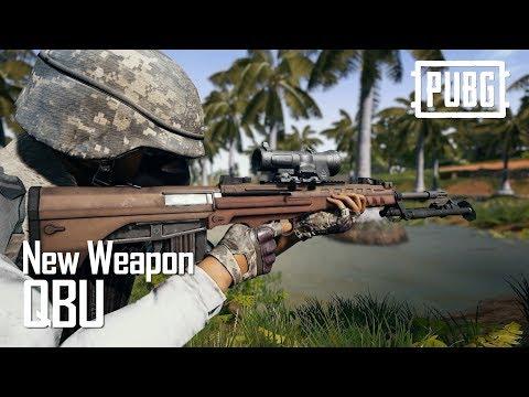 又一把Sanhok的專屬中國製步槍 QBU 有腳架的連發狙擊 中文完整槍枝介紹
