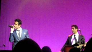 Big Time & If I Run Into You - Joey McIntyre & Emanuel Kiriakou - Vegas 2/12/11