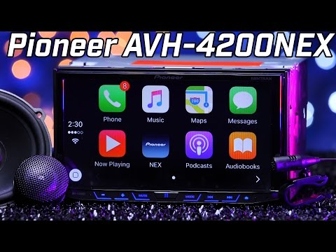 Pioneer AVH-4200NEX – Apple Carplay & Android Auto – Double DIN Review 2016