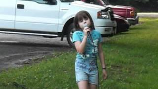 """My 9 year old daughter sings """"My Hallelujah Song"""" by Julianne Hough"""