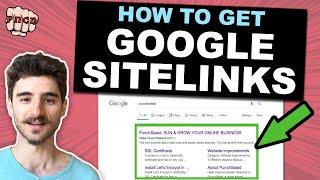 How to Get Google Sitelinks