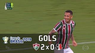 Fluminense 2 X 0 Santa Cruz - Copa Do Brasil 2019