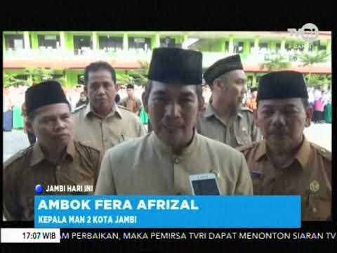 MAN 2 KOTA JAMBI GELAR MATSAMA DENGAN MELIBATKAN TNI POLRI
