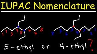 IUPAC Nomenclature of Alkanes - Naming Organic Compounds