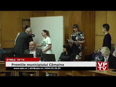 Premiile municipiului Câmpina