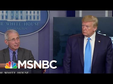 Fauci: 'Nothing We Can Do' Right Now On COVID-19 Racial Disparities | MTP Daily | MSNBC