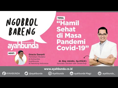 Hamil Sehat di Masa Pandemi Covid-19