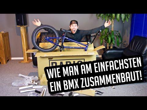 BMX Komplettrad Montage für Anfänger