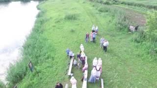 №3. Запуск квадрокоптера для съёмки крещения и деревни.  10.07. 2016