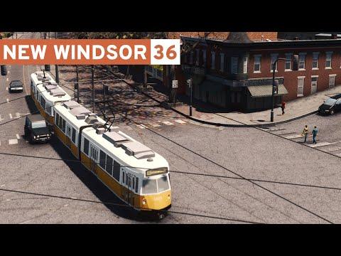 LIGHT RAIL - Cities Skylines: New Windsor #36