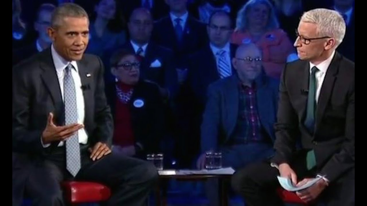 Obama To Anderson Cooper: Seriously Dude? thumbnail