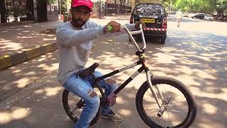 In Depth About How To Manual on BMX | Hindi Tutorials | Pravin Habib Bmx India