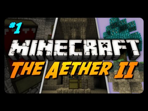Minecraft: The Aether II - Ep. 1 - An Unforgiving Environment!