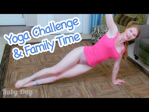 Yoga Challenge + Family Time + FAQ - Ruby Day