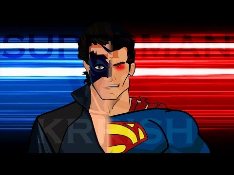 SUPERMAN VS KRRISH Animated Part 1