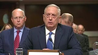 Senate Armed Services Committee hearing. Sec. Mattis, Gen. Dunford testify. Oct 3, 2017.