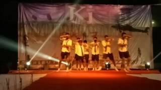 YZ Group Dance inspired by 'Chavat boys' @ KJ College pune #youthfest