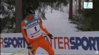 Весёлый венесуэльский лыжник (прикол, смешное видео)