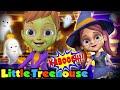 Kaboochi Halloween Dance Challenge | Halloween Music & Spooky Rhymes & Songs | Trick or Treat