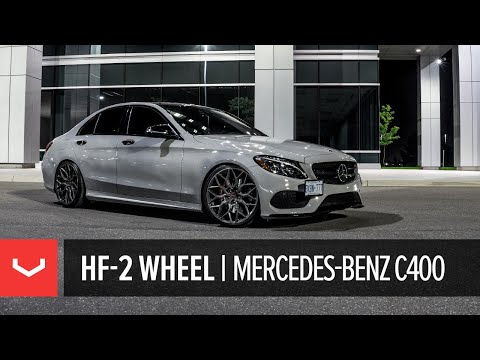 Vossen Hybrid Forged HF-2 Wheel | Mercedes-Benz C400