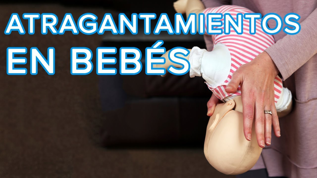 Cómo actuar si tu bebé se atraganta | Maniobra de Heimlich en bebés